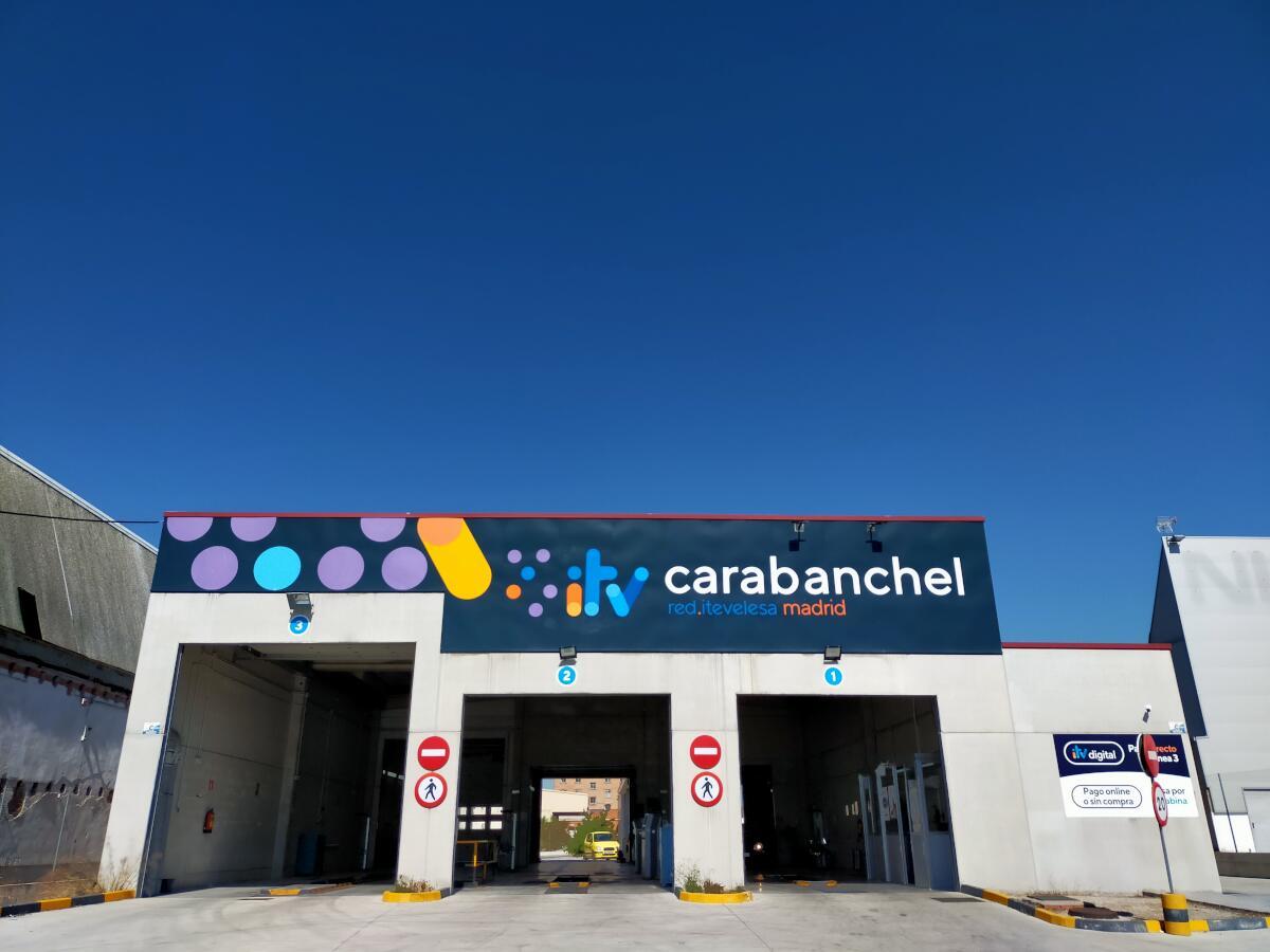 Estación ITV Carabanchel Red Itevelesa
