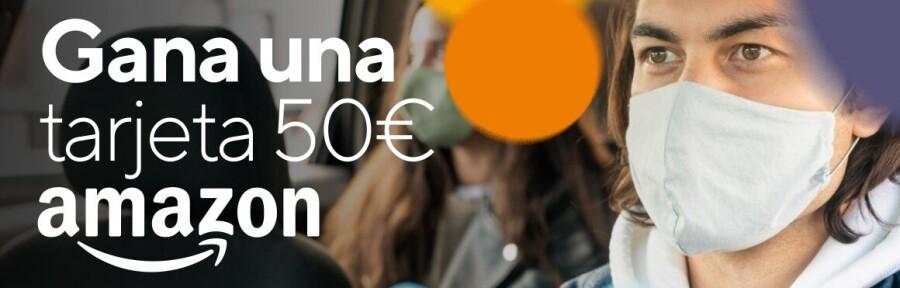 ¿Quieres llevarte una Tarjeta Regalo Amazon de 100€? ¡Participa en nuestras RRSS!