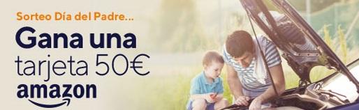 ¡Llévate una tarjeta de 50€ de Amazon por el Día del Padre!