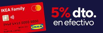 ¡Disfruta de nuestro 5% con la tarjeta IKEA Family en Gran Canaria!